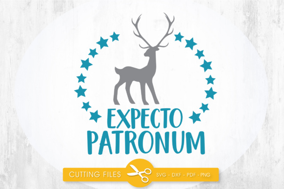 Download Free Expecto Patronum Grafico Por Prettycuttables Creative Fabrica for Cricut Explore, Silhouette and other cutting machines.
