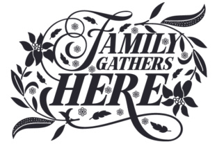 Family Gathers Here Home Craft Cut File By Creative Fabrica Crafts