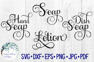 Download Free Fancy Soap Bundle Graphic By Wispywillowdesigns Creative Fabrica for Cricut Explore, Silhouette and other cutting machines.