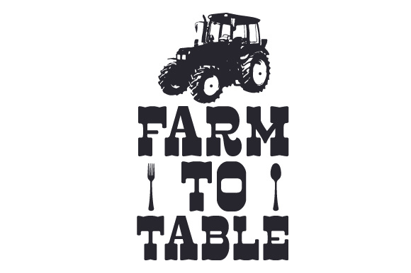 Download Free Farm To Table Svg Cut File By Creative Fabrica Crafts Creative for Cricut Explore, Silhouette and other cutting machines.