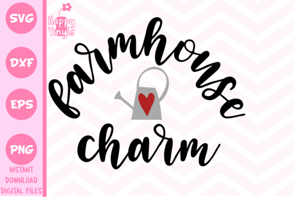 Farmhouse Charm Graphic Crafts By happyvinyls