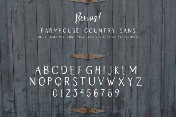 Print on Demand: Farmhouse Country Script & Handwritten Font By BeckMcCormick - Image 11