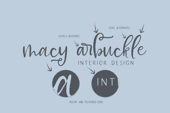 Print on Demand: Farmhouse Country Script & Handwritten Font By BeckMcCormick - Image 3