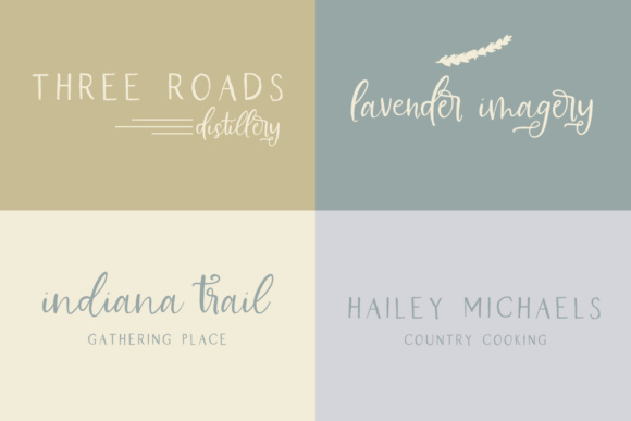 Print on Demand: Farmhouse Country Script & Handwritten Font By BeckMcCormick - Image 7