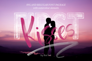 First Kisses Font By Red Ink