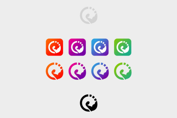 Fitness Time Icon Graphic Icons By KitCreativeStudio - Image 1