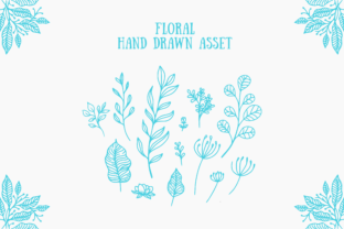 Floral Handdrawn Asset Graphic By herbanuts