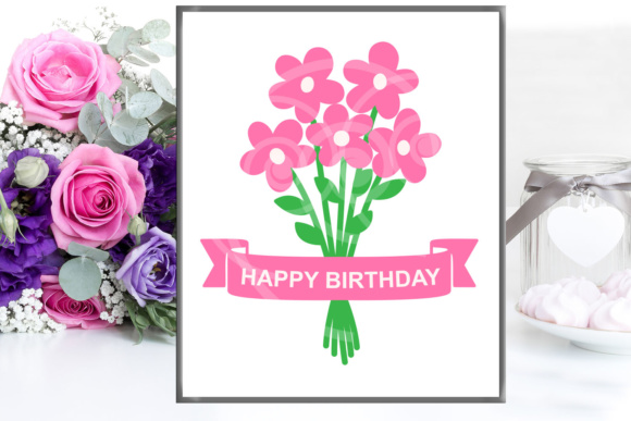 Download Free Flowers Bouquet Graphic By Cornelia Creative Fabrica SVG Cut Files
