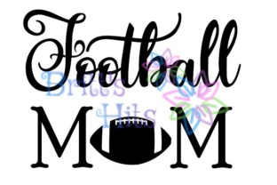 Download Free Football Mom Football Season Football Family Football Player Graphic By Britt S Hits Creative Fabrica for Cricut Explore, Silhouette and other cutting machines.