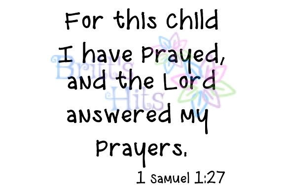 Download Free For This Child I Have Prayed Svg Graphic By Britt S Hits for Cricut Explore, Silhouette and other cutting machines.