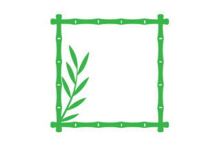Bamboo Square Frame Craft Design By Creative Fabrica Crafts