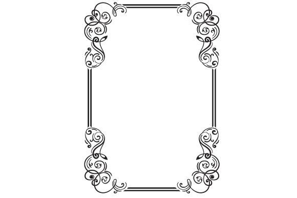 Frame Designs & Drawings Craft Cut File By Creative Fabrica Crafts - Image 1
