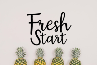 Fresh Start SVG Graphic By MissSeasonsVinylCuts