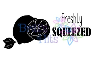 Download Free Freshly Squeezed Lemon Newborn Graphic By Britt S Hits for Cricut Explore, Silhouette and other cutting machines.