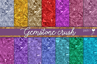 Gemstone Crush (Pack 1) Graphic By JulieCampbellDesigns