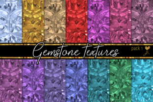 Gemstone Textures (Pack 1) Graphic By JulieCampbellDesigns