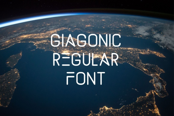 Print on Demand: Giagonic Serif Font By Muhammad Ersya