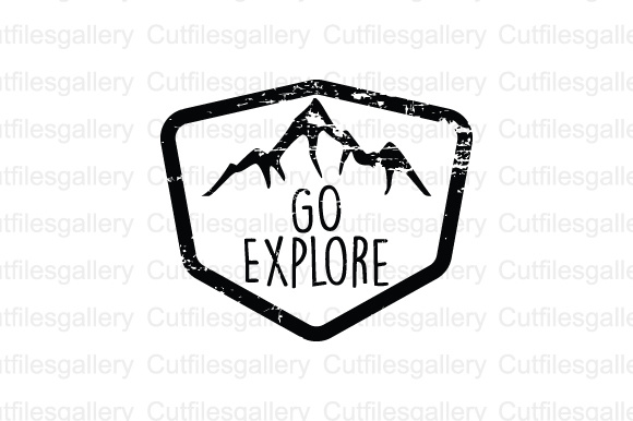 Download Free Go Explore Cut File Graphic By Cutfilesgallery Creative Fabrica for Cricut Explore, Silhouette and other cutting machines.