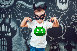 Green Monster Halloween SVG Graphic By MissSeasonsVinylCuts