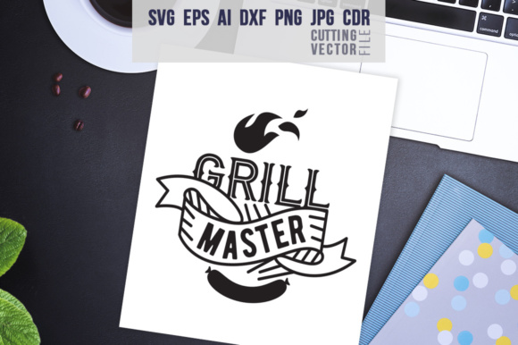 Grill Master Graphic Crafts By danieladoychinovashop