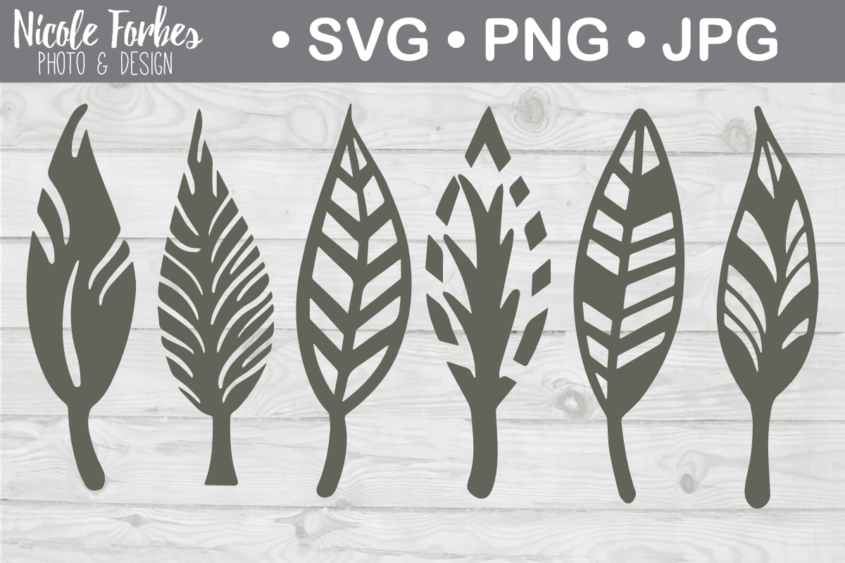 Download Free Hand Drawn Feather Svg Cut File Graphic By Nicole Forbes Designs for Cricut Explore, Silhouette and other cutting machines.
