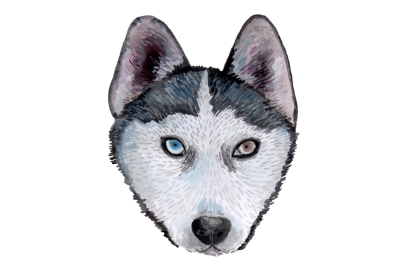 Hand Painted Watercolor Dogs Graphic Illustrations By Jen Digital Art - Image 4