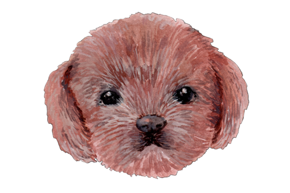 Hand Painted Watercolor Dogs Graphic Illustrations By Jen Digital Art - Image 5