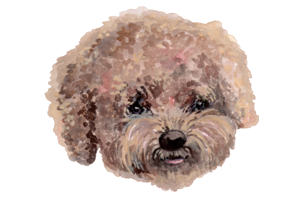 Hand Painted Watercolor Dogs Graphic Illustrations By Jen Digital Art - Image 6