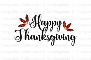 Happy Thanksgiving Svg Dxf Png Cut File Graphic By