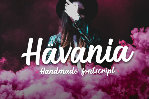 Print on Demand: Havania Script Script & Handwritten Font By Micromove