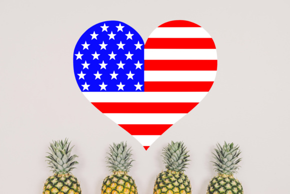 Download Free Heart American Flag Svg Graphic By Missseasonsvinylcuts for Cricut Explore, Silhouette and other cutting machines.