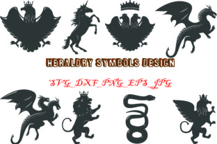 Heraldry Symbols Graphic Graphic By Best_Store