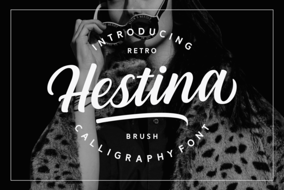 Print on Demand: Hestina Script & Handwritten Font By Keithzo (7NTypes)
