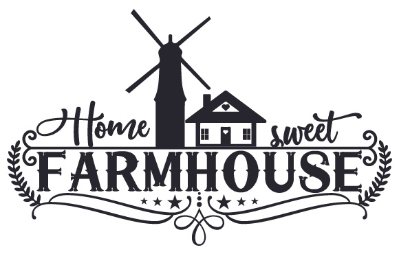 Home Sweet Farmhouse Hogar Archivo de Corte Craft Por Creative Fabrica Crafts