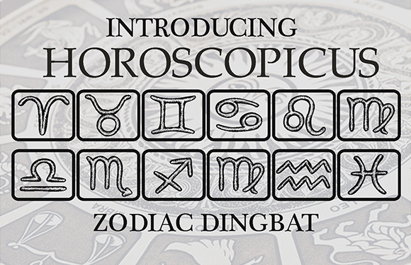 Print on Demand: Horoscopicus Dingbats Font By vladimirnikolic