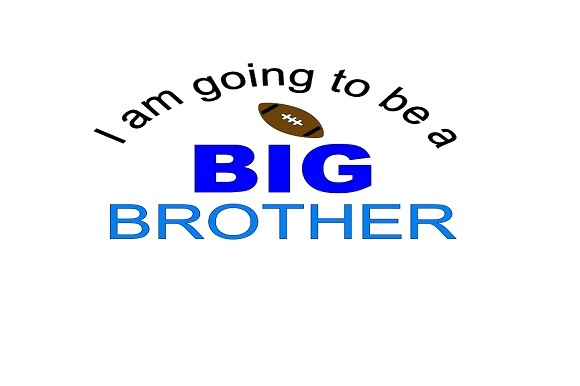 Download Free I Am Going To Be A Big Brother Graphic By Family Creations for Cricut Explore, Silhouette and other cutting machines.