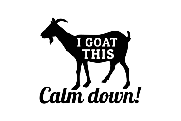 Download Free Goat Silhouette Svg   Free SVG Cut Files. Create your ...