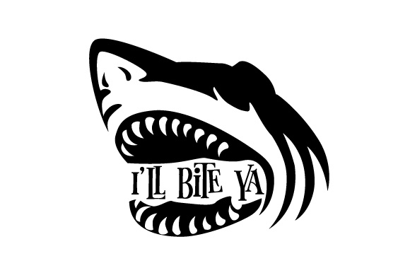 Download Free I Ll Bite Ya Svg Cut File By Creative Fabrica Crafts Creative for Cricut Explore, Silhouette and other cutting machines.