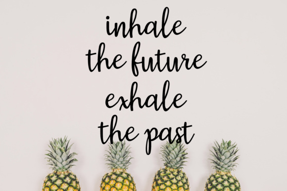 Download Free Inhale The Future Exhale The Past Svg Graphic By for Cricut Explore, Silhouette and other cutting machines.