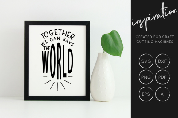Print on Demand: Inspirational Quotes Bundle Graphic Crafts By illuztrate - Image 14