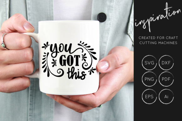 Print on Demand: Inspirational Quotes Bundle Graphic Crafts By illuztrate - Image 15