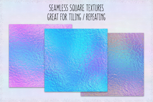 Print on Demand: Iridescent Bright Foils Graphic Textures By JulieCampbellDesigns - Image 2