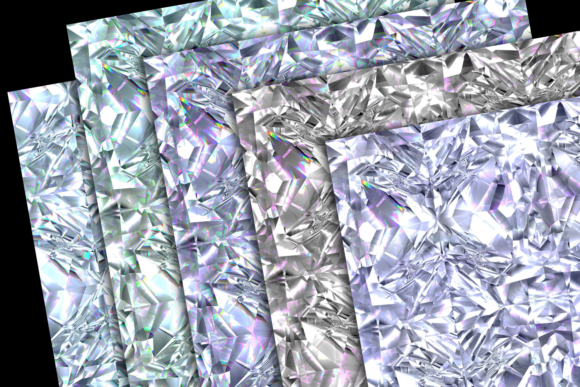 Print on Demand: Iridescent Gemstone Textures Graphic Textures By JulieCampbellDesigns - Image 3