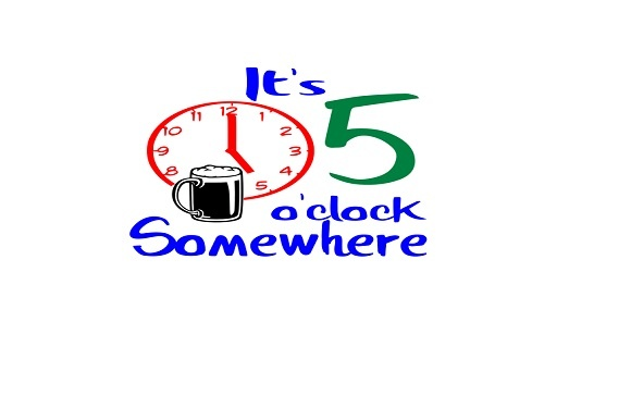 Download Free It S 5 O Clock Somewhere Graphic By Family Creations Creative for Cricut Explore, Silhouette and other cutting machines.