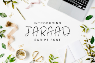 Jaraad Family Script & Handwritten Font By Creative Tacos