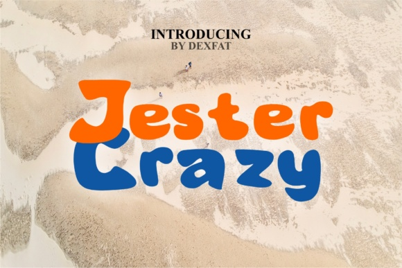 Print on Demand: Jester Crazy Sans Serif Font By dexfat01