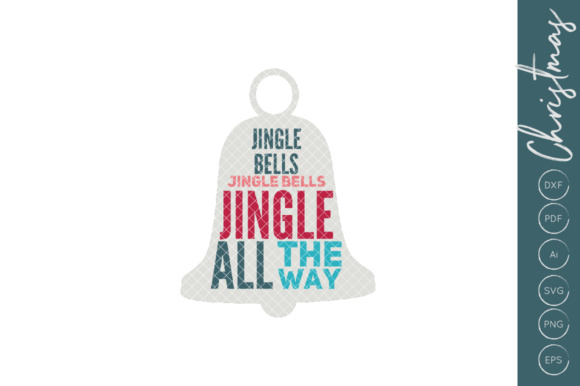 Download Free Jingle Bells Graphic By Illuztrate Creative Fabrica for Cricut Explore, Silhouette and other cutting machines.