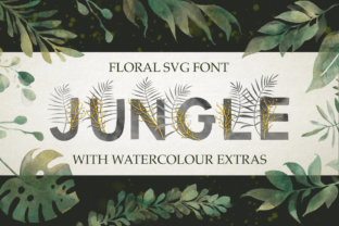 Jungle Font By Red Ink
