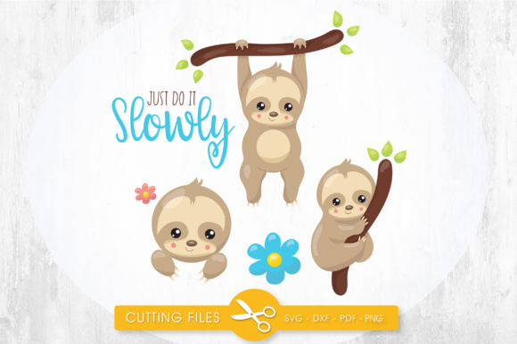 Just Do It Slowly Graphic Crafts By PrettyCuttables