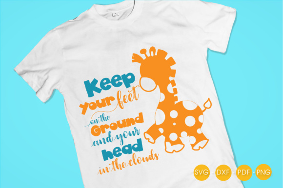 Keep Your Head in the Clouds Graphic Crafts By PrettyCuttables - Image 2